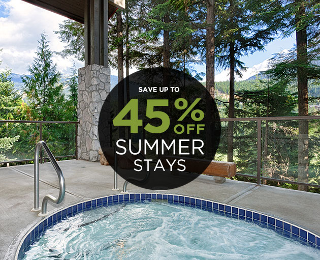 Up to 45% off Summer Lodging