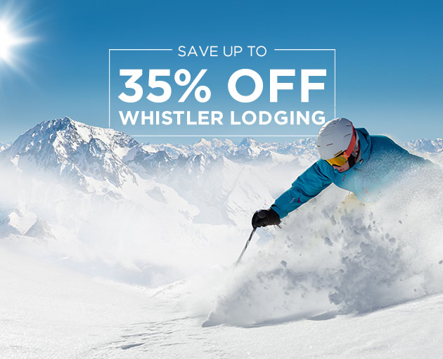 Up to 40% off Winter Lodging